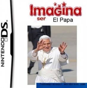 Imagina ser el Papa