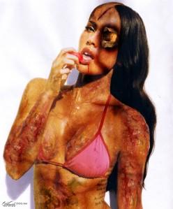 Zombie Megan Fox