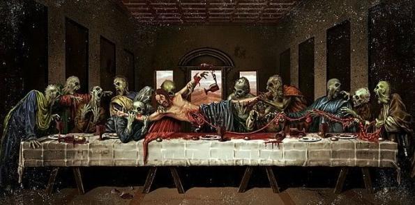 La última comida de cerebros
