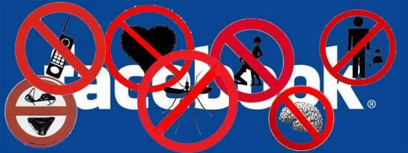 Prohibido-Facebook